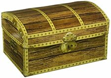Treasure Chest Box Kids Bedroom Storage Container Toy Party Decoration Pirate