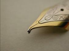 Fountain Pen Nib Repair: Straighten Bend, Align Tines, Ink Flow Montblanc Parker