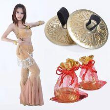 Brass Professional Egypt Finger Cymbals Belly Dance Zills Set of 2 pcs