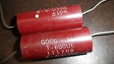 2 X ) Good-All  .5 uf 400v Capacitors