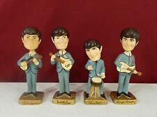 Beatles Car Mascots Inc Nodders Bobbleheads All 4