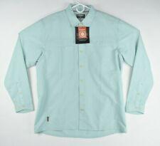 NEW Simms Fishing Ebb Tide LS Shirt Size M, L Light Teal UPF 50+