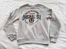 "Chicago Blackhawks CCM NHL Men's ""Original Six"" Crew Fleece Sweatshirt Small"