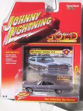 JOHNNY LIGHTNING 2016 CLASSIC GOLD 1965 PONTIAC CATALINA 2+2 #6 A Red Line Tires