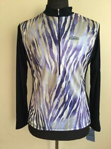 SheBeest Half Zip Long Sleeve Cycling Jersey GORGEOUS Women's Size Small NEW