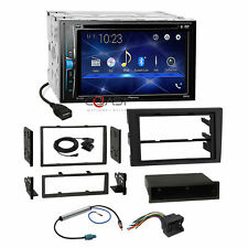 Pioneer DVD USB BT Stereo Dash Kit Harness for 02-08 Audi A4 S4 Symphony Radio