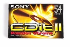 Sony CDit II 54 Audiocassetta vergine  Cromo