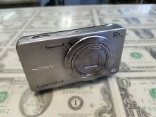 Sony Cyber-shot DSC-W690 16.1MP Digital Camera-Silver good preowned condition...