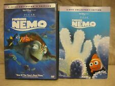 Disney Pixar Finding Nemo 2 Disc Collector's Edition Dvd w/Chapter Card