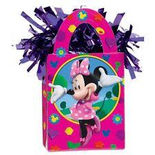 DISNEY Minnie personaggio rosa elio Foil Balloon peso mini Tote