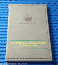 1988 Australia Proof Coin Set (The Australian International Coin Fair 1988)
