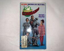 Suburban Commando 1992 VHS Hulk Hogan Rare WWF WCW - Brand New