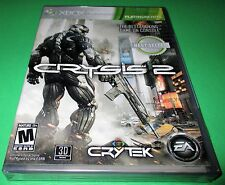 Crysis 2 Microsoft Xbox 360 *Factory Sealed! *Free Shipping!