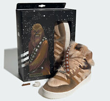 ADIDAS RIVALRY HIGH CHEWBACCA SIZES 7.5 8 9 10 10.5 11 STAR WARS LIMITED RARE