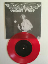 IGGY POP - Live at Channel 1988 - 45 tours RED VINYL