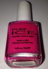Pure Ice Nail Lacquer Polish #1199 *Flirt Alert* Opaque Bright Pink Creme B. New