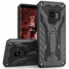 For Samsung Galaxy S9 Case Black Rugged Military Armor Shield Protective Cover