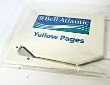 NEW Vintage Bell Atlantic Yellow Pages Advertising Letter Opener Card Holder