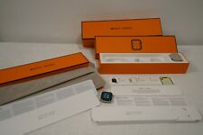 HERMES APPLE WATCH SERIES 4 STAINLESS STEEL 40MM NO BANDS A1975 W BOX AUTHENTIC