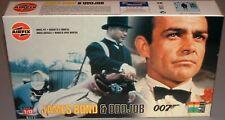 007 James Bond & Odd Job Airfix Model Starter Kit Set 04402 From 1998