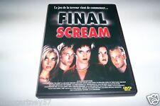 """DVD FINAL SCREAM FILM D""""HORREUR le jeu de la terreur commence"""