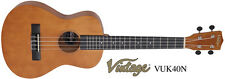 Vintage VUK40N Tenor Ukulele - Natural Finish