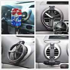 Auto SUV Truck Wind Air A/C Outlet Folding Cup Bracket Bottle Drink Holder Clip