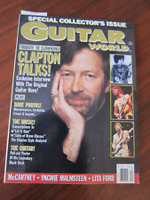 Guitar World 12/89 Eric Clapton Paul McCartney Lita Ford