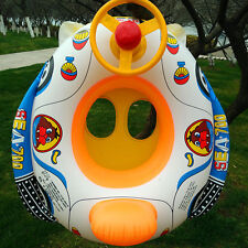 Baby Kids Inflatable Float Seat Boat Swim Pool Swimming Ring Wheel Toy Gift