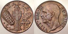 10 CENTESIMI 1943 REGNO D'ITALIA VITTORIO EMANUELE III Q.Fdc #5916