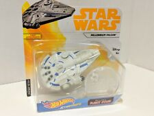 Hot Wheels Star Wars Starships Millennium Falcon With Flight Stand Brand NEW