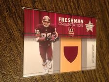 2003 Leaf R&S Freshman Orientation #FO18 Taylor Jacobs JERSEY PATCH RELIC /600!!
