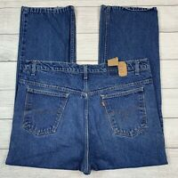 Vintage Levi's 517 Orange Tab Made in USA Blue Jeans Men's Size 42x30 20517-0217