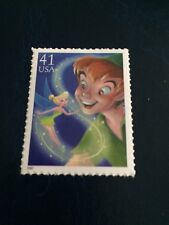 US Stamps Unused DIsney Peter Pan Tinker Bell Collect or Use as Postage