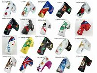 Golf Putter Headcover for Taylormade Odyssey 2Ball Scotty Cameron Blade Magnetic