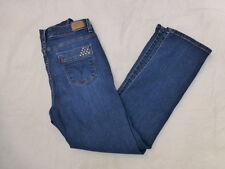 WOMENS LEVIS 512 PERFECTLY SLIMMING STRAIGHT LEG JEANS SIZE 30x29 #W686