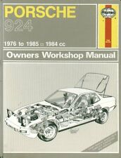 PORSCHE 924 INCL TURBO & CARRERA GT 1976-85 OWNER WORKSHOP MANUAL *VGC HARDBACK*