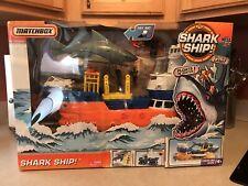 Matchbox Mega Rig Shark Adventure, New in Box