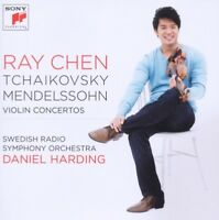 "RAY CHEN ""VIOLIN CONCERTOS""  CD NEW!"