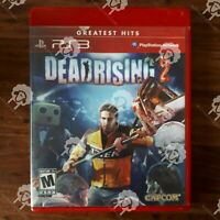DEADRISING 2 ( PLAYSTATION 3 PS3  ) Tested