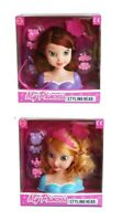 Princess Styling Dolls Head Hair Play Set Kids Childs Toy Beauty Girls Make Up