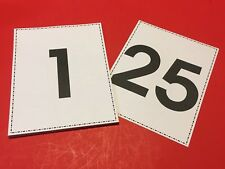 "Numbers 1-25 Classroom Flashcards / Binder Insert 8.5""x11"""