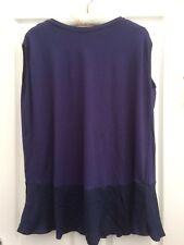 Next Maternity Womens Navy Blue Sleeveless Maternity Top T Shirt Size 8  BNWT