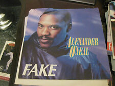 Alexander O'neal; Fake   on 45 Promo Copy