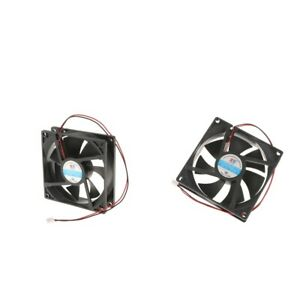 2x 92mm Silent Fan for Computer Cases CPU Coolers Radiators High Performance