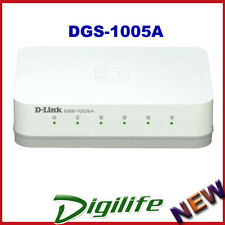 D-Link DGS-1005A 5-Port Gigabit Desktop Switch