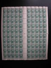 RARE TIMBRES FRANCE 1946/55 TAXE FEUILLE de 100 n°80 ! COTE 2800€  NEUF**