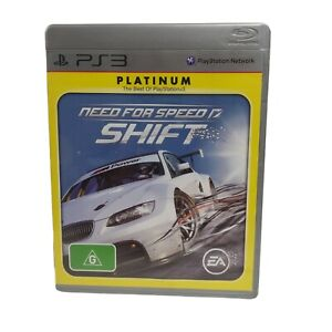 NEED FOR SPEED SHIFT PS3 GAME COMPLETE Free Tracked Postage