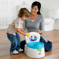 NEW Fisher Price Learn to Flush Potty In Frustration Free Packaging Potty Chair
