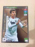 CARD PANINI ADRENALYN ROAD TO EURO 2020 N 8 MULLER GERMANY EXPERT
